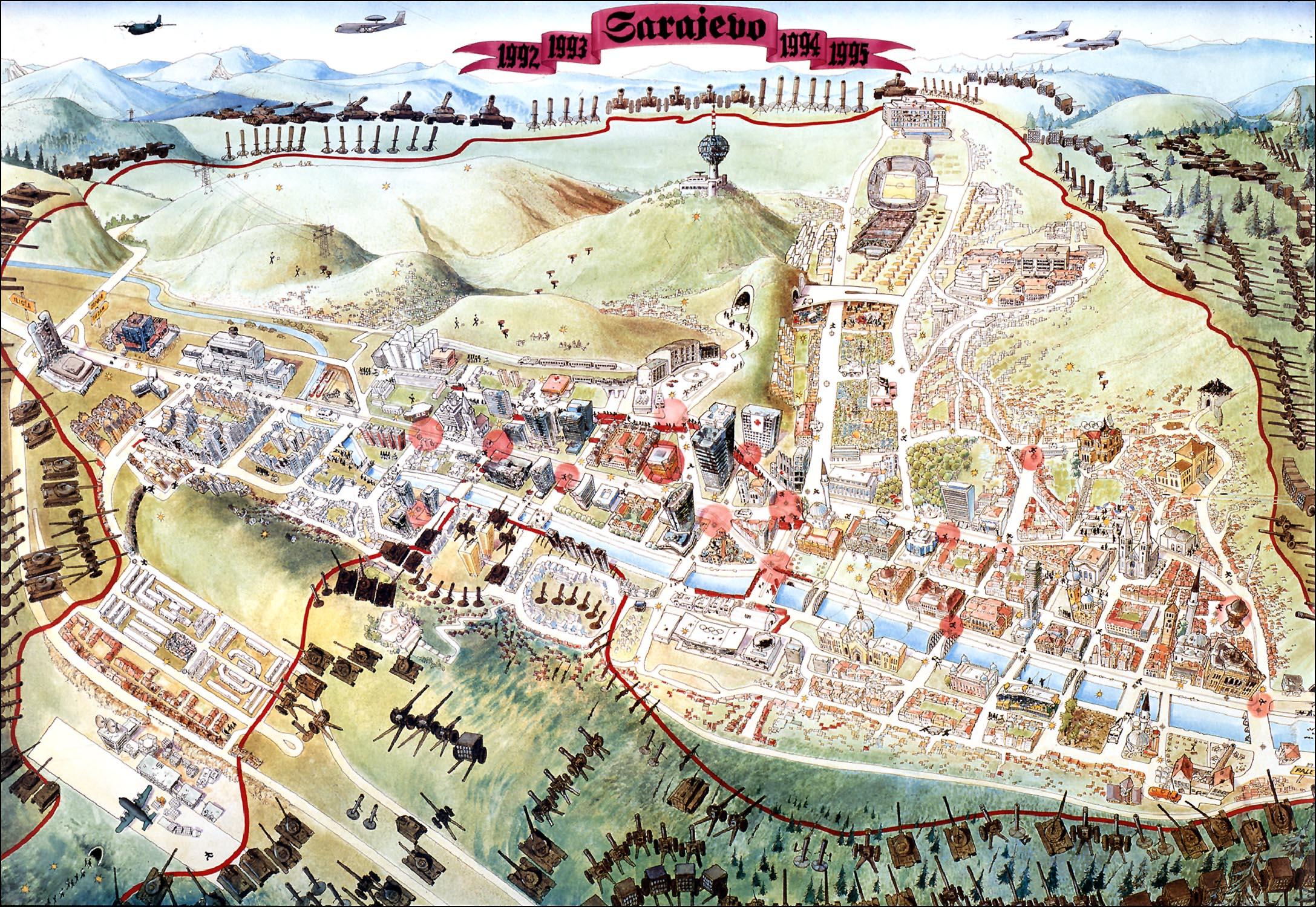 Sarajevo-Survival-Map-1992-1996